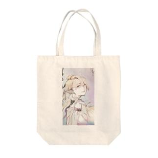 エルフの女の子 Tote bags