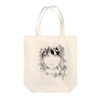 筆百合 Tote bags