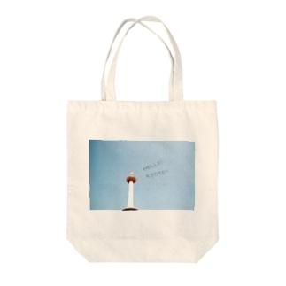 HELLO! KYOTO!!! Tote bags