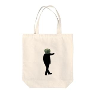かぼちゃまん Tote bags