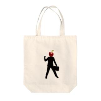りんごまん Tote bags