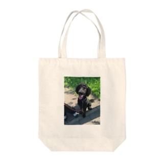 スタンダードプードル Tote bags