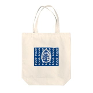 まつろわぬ 悪路王バージョンB Tote bags