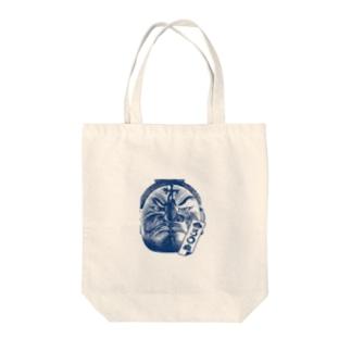 まつろわぬ 悪路王バージョン Tote bags