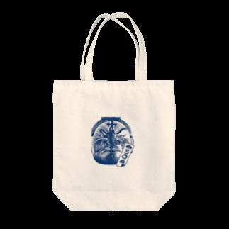 gooidoのまつろわぬ 悪路王バージョン Tote bags