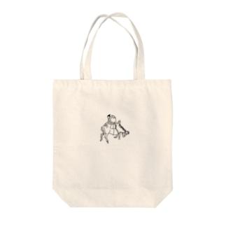 JUNSEN(純仙)農夫の一日 Tote bags