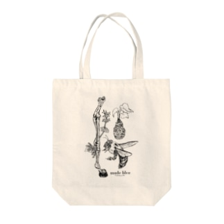 Kumanbachi , Bone of house & Spring plants Tote bags
