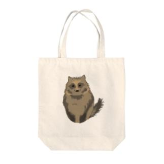 たぬー Tote bags