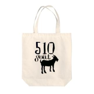 510goat Tote bags