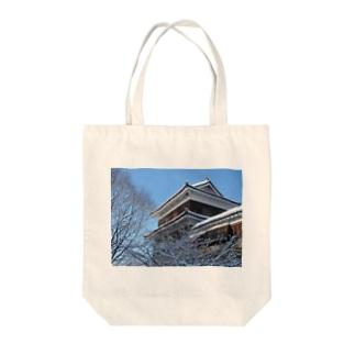 上田城(冬) Tote bags