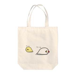 居候にわとり・ひよこ失神 トートバック Tote bags