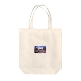 上田城桜2 Tote bags