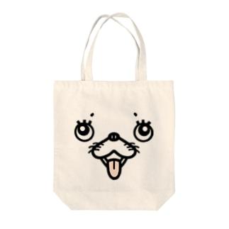 犬顔 Tote bags