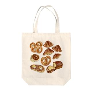 パン!パン!パン♡ Tote bags