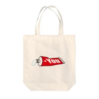歯磨きユーチューバー専用 ホワイトニング Tote bags