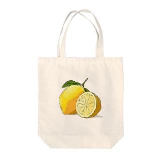 レモン!檸檬! Tote bags
