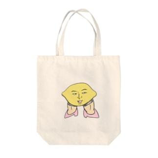 レモン姉さん Tote bags