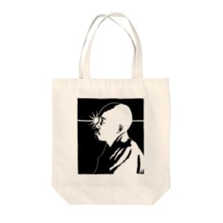 ピキーン!正岡子規 Tote bags