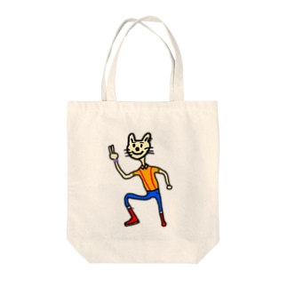 OIキャット Tote bags