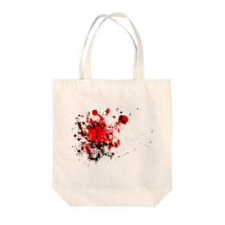 田中の血飛沫 Tote bags