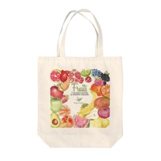 フルーツ!fruit! Tote bags