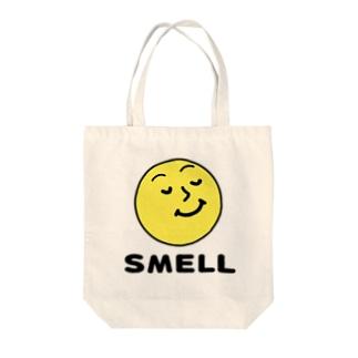 スメル君マーク 香り Tote bags