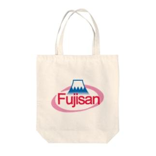 ミネラルウォーター富士山 Tote bags