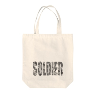 SOLDIER Tote bags
