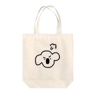 ぷんころりん君 Tote bags