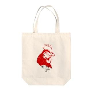 にわとり Tote bags