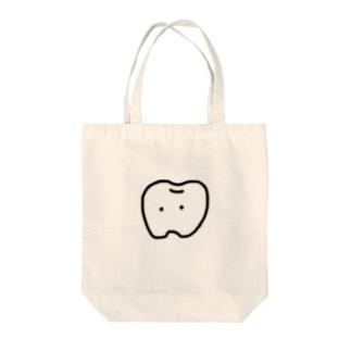 並び悪い歯 Tote bags