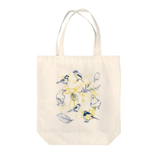 TORISUKI(野鳥・鳥グッズ)の身近な野鳥 Tote bags