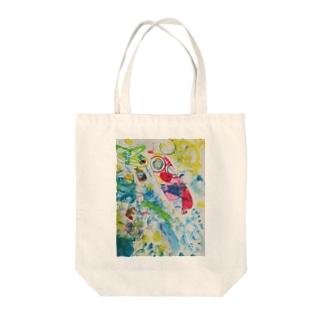 アイシテル Tote bags