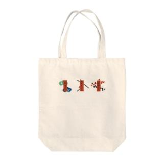 【まあるい花札】赤短 Tote bags