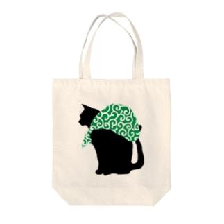 泥棒猫 Tote bags