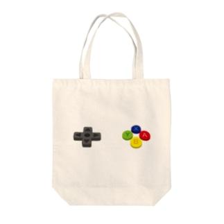 コントローラー ボタン Tote bags
