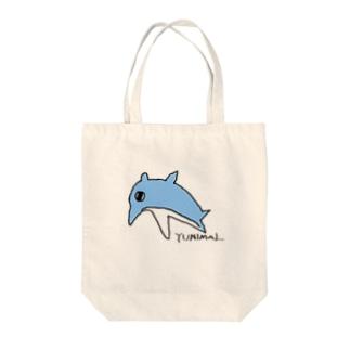 バンドウイルカ Tote bags