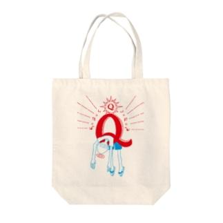 ばたんQ Tote bags