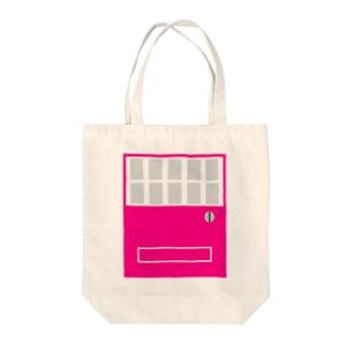 自販機pink×gray Tote bags