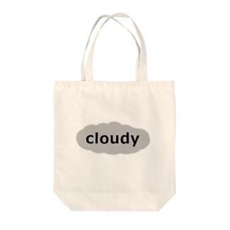cloudy トートバッグ