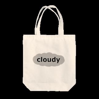 ameyoのcloudy Tote bags