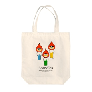 3Candles Tote bags