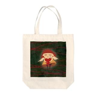 愛の歌 Tote bags