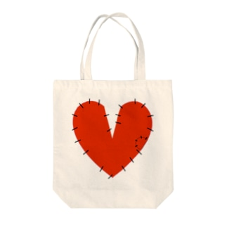 Sewing Heart Tote bags