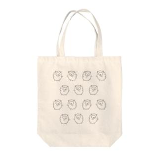 ひつじちゃん Tote bags