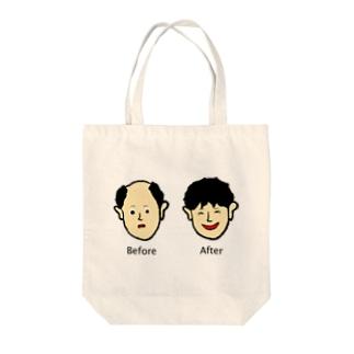増毛 Tote bags