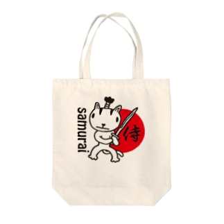 samurai Tote bags