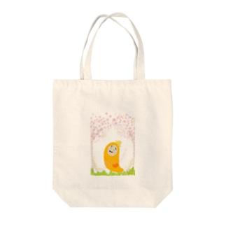 春いもこ Tote bags
