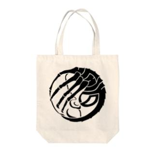 SF家紋「顔に壽海老」 Tote bags
