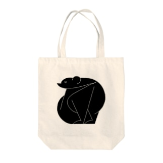 clever bear Tote bags